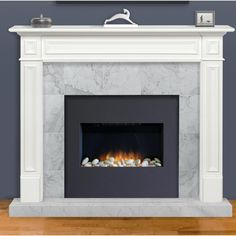 Pearl Mantels Mike Fireplace Surround & Reviews | Wayfair Herringbone Fireplace, Granite Fireplace, Fireplace Mantel Surrounds, Fireplace Tile Surround, Wood Fireplace Mantel, Rustic Mantel, Wood Mantels, Small Fireplace, Custom Fireplace