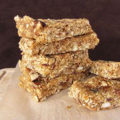 No-bake peanut butter lentil granola bars    http://www.onceuponacuttingboard.com/2012/03/no-bake-peanut-butter-lentil-granola.html