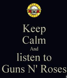 and let the memories flow :) Have the best memories listening to Guns N' Roses Guns N Roses, Ant Music, Rock Music, Kinds Of Music, Music Is Life, Music Background, Estilo Rock, Rascal Flatts, We Will Rock You