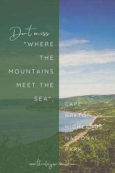 The final stop on my East Coast Canada Roadtrip and one of my absolute favorites. East Coast Canada, Cape Breton, See It, Highlands, North America, Travel Tips, National Parks, Road Trip, Mountains