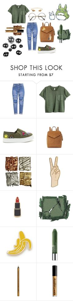 """Basic"" by teresa-mt on Polyvore featuring moda, Loeffler Randall, Lucky Brand, Georgia Perry, Surratt, Clinique, NYX y Rachel Jackson"
