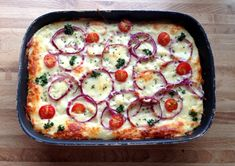 Ground Beef Recipes, Vegetable Pizza, Quiche, Nom Nom, Food Porn, Dinner Recipes, Food And Drink, Yummy Food, Eat