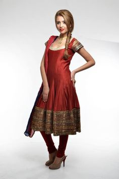 Stunning Synthetic Cotton anarkali chudi for party