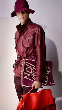 Burberry Prorsum Menswear Spring/Summer 2015 - this jacket is perfection