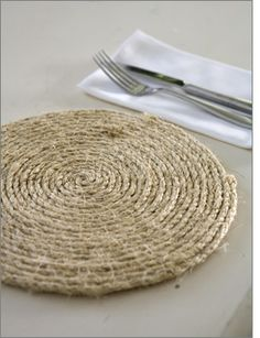 HOW TO make this rope placemat