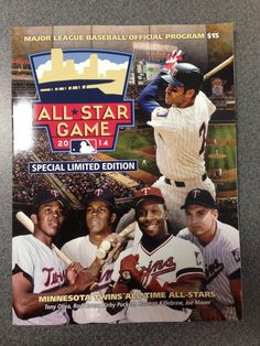 2014 MLB All-Star Game Program Official MINT  Limited Edition Minnesota Baseball