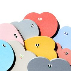 Colorful Cute Sticky Notes [S] / Bookmark / Notepads / Memo pad / Sticky Notes / Post it Notes / Scr