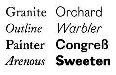 Find Figgins Sans on #FontShop!