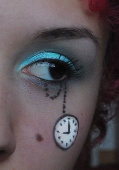 Alice in Wonderland Make Up I by Faye-Raven.deviantart.com on @deviantART