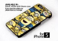 AJ 159 despicable me minion - iPhone 5 Case | FixCenter - Accessories on ArtFire