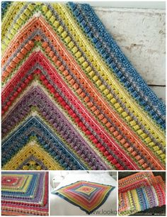 The Namaqualand Blanket is very special to me for many (mostly sentimental) reasons. I am delighted to share the pattern with you.