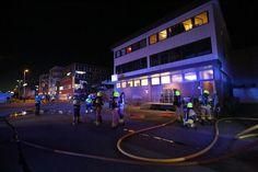 Melding om brann i en bygning i Stjørdal sentrum. Nødetater på veg. - Adresseavisen