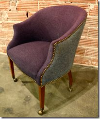 /Chairs = several Examples of painted or dyed chairs and upholstery. Some with links to their projects.