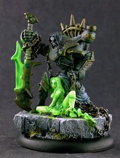 Goreshade with modified Deathwalker.  Like her much better, more like the original artwork