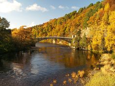 Craigellachie bridge by ejbluefolds, via Flickr. Pass this bridge on my way to our local town Elgin. It looks different in every light and season.
