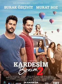 High resolution official theatrical movie poster for Kardesim Benim 2 Image dimensions: 2100 x Local Movies, Good Movies, Film Movie, Burak Ozcivit, Very Tired, Hd 1080p, Tv Series, Videos, My Books