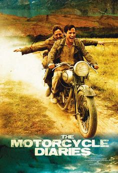 The Motorcycle Diaries (Spanish: Diarios de motocicleta) is a 2004 biopic about the journey and written memoir of the 23-year-old Ernesto Guevara, who would several years later become internationally known as the iconic Marxist guerrilla commander and revolutionary Che Guevara. https://en.wikipedia.org/wiki/The_Motorcycle_Diaries_(film)