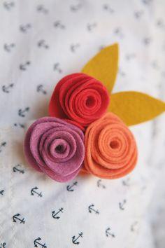 Felt Flower Corsages