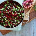 pomegranate salsa a seasonal salsa recipe for winter pomegranate salsa ...