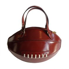 7135ce3bae 1stdibs.com | 2001 Football, Vintage Moschino Purse Unique Handbags, Unique  Purses,