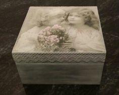www.manualidadespinacam.com     Caja de vintage. Realizado por Mariangeles Marqueño.