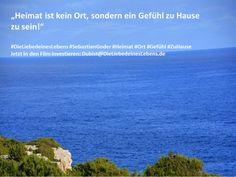 """""""Heimat ist kein Ort, sondern ein Gefühl zu Hause zu sein!""""  #DieLiebedeinesLebens #SebastianGoder #Heimat #Ort #Gefühl #ZuHause Jetzt in den Film investieren: Dubist@DieLiebedeinesLebens.de"""