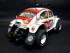 Rc Motors, Tamiya Models, Rc Radio, Baja Bug, Radio Control, Vw Bus, Rc Cars, Geeks, Beetle