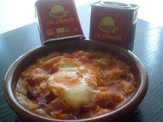 """Cocinando con Montse: Sopa de ajos al pimentón """"La Chinata"""""""