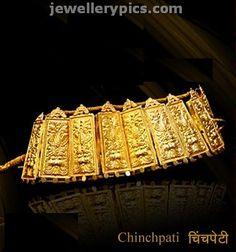 Traditional Maharashtrian jewellery - Chinchpeti