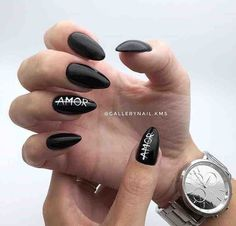 Nail Art Designs In Every Color And Style – Your Beautiful Nails Classy Nails, Simple Nails, Trendy Nails, Simple Nail Art Designs, Gel Nail Designs, Nails Design, Nail Manicure, Diy Nails, Uñas Diy