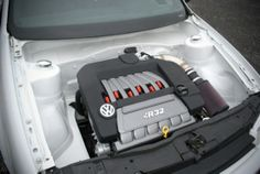 Clean engine compartment..