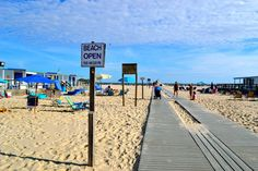 The beach is open and waiting for you! http://www.thesandsatlanticbeach.com