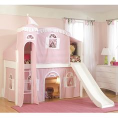 Childrens Beds With Slides bunk beds with slides for children | bunk bed, castle bed and room