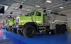Oshkosh MTVRs Fire trucks