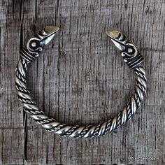 Viking bracelet raven