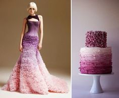 Cake Power Cakes: Alexander McQueen Cakes: Couture Confections