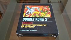 Donkey Kong 3 - Nintendo NES - Small Box 1st edition - Complete