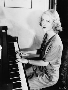Bette Davis, understandable that someone wrote a song about those eyes. stunning