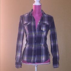 🎉Causal Friday HP🎉Stylish flannel 100% cotton🔸 looks like new Aeropostale Tops