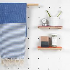 Handwoven Hammam Towels, Brittany - bathroom