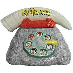 Flintstones Telephone Cookie Jar