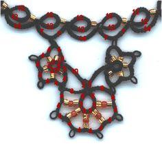 Tatting: necklace pattern