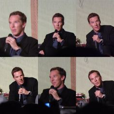 Ben at his Q&A at Sherlocked Event - 25th April 2015