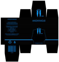ANONYMOUS package design by REDvo.deviantart.com on @deviantART