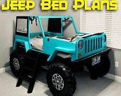 Etsy - Shopping Cart Bedroom Themes, Kids Bedroom, Garage Theme Bedroom, Cinderella Bed, Cinderella Carriage, Car Bed Frame, Jeep Bed, Tractor Bed, Diy Bed
