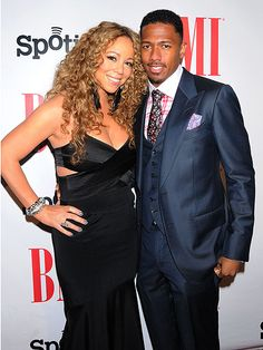 Mariah Carey and Nick Cannon - September 7, 2012 at the BMI Urban Awards