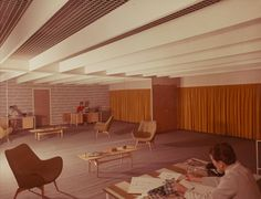 Showroom, office, Saba of California 1960  Dacre STUBBS
