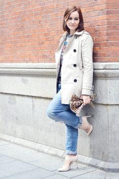 Gabardina Print | La Chimenea de las Hadas | Blog de Moda y Lifestyle|