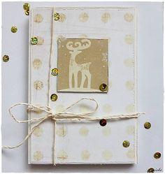 misha_cards / *Bodkované Vianoce - sobík*