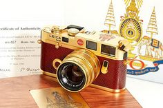 Leica M6 King Bhumibol Adulyadej of Thailand Golden Jubilee Edition